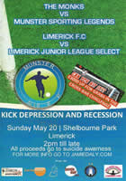 Monks V Limerick Sporting Legends